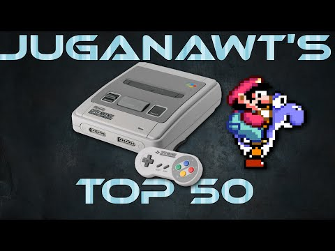 Top 50 Super Nintendo (SNES) / Super Famicom Games of all Time (in 60fps 1080p HD)