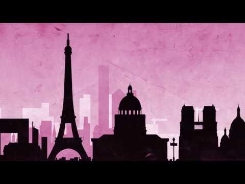 Paris Cityscape Paper Texture Animation - Free Motion Graphics // 50fps