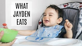 WHAT MY BABY EATS IN A DAY | Finger Food Ideas!!