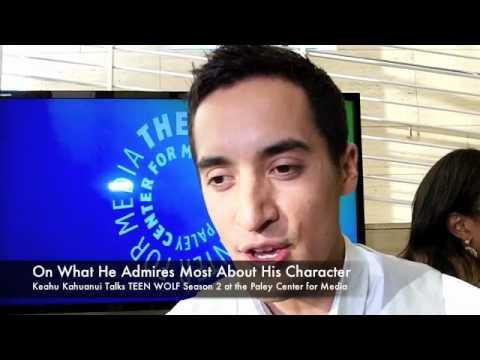 Keahu Kahuanui Talks TEEN WOLF Season 2