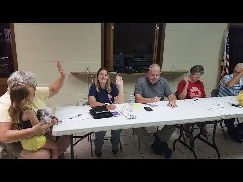 Talking Rock Town Council July 2017