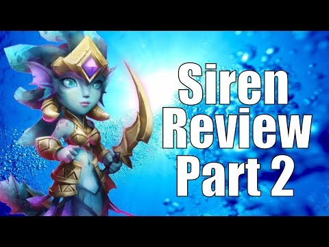 Castle Clash Siren Review Part 2!