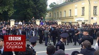 """""""Мы джихад будем делать!"""": акция у посольства Мьянмы в Москве"""