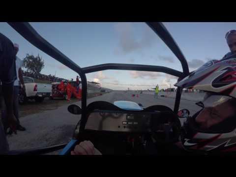 Barbados Drag Racing - MegaWatt vs Evo