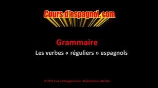 les verbes rguliers espagnols verbes en ar er ir