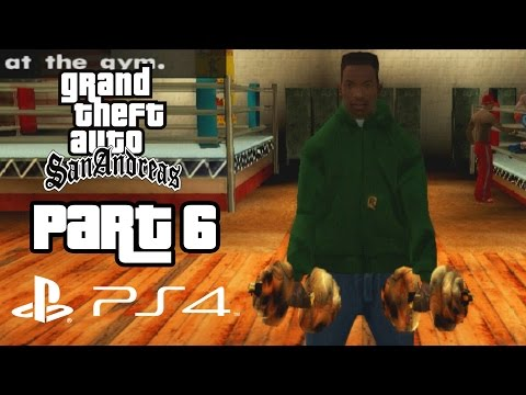 Grand Theft Auto San Andreas PS4 Gameplay Walkthrough Part 6 - WORKING OUT (GTA San Andreas PS4)