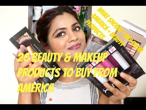 20 Best Drugstore(Mostly) Beauty Products To Buy From America|What Should I Buy