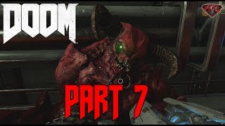 "DOOM 4 Gameplay Walkthrough Part 7 ""Hell on Mars"" 1080p 60fps|Let"