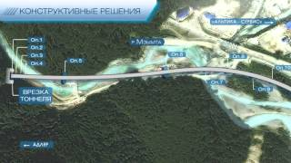 Видео дизайн и инфографика: Вантовый мост. Параметры