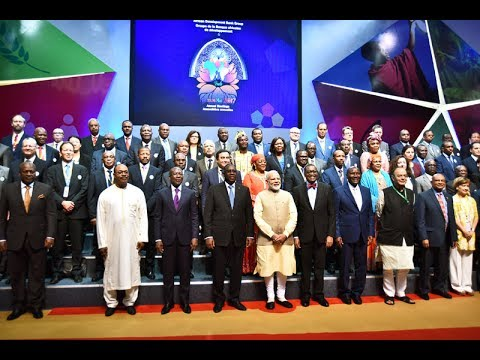 PM Narendra Modi at Opening Ceremony of Meetings of the African Development Bank Group