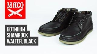 Ботинки Shamrock - Walter, Black. Обзор