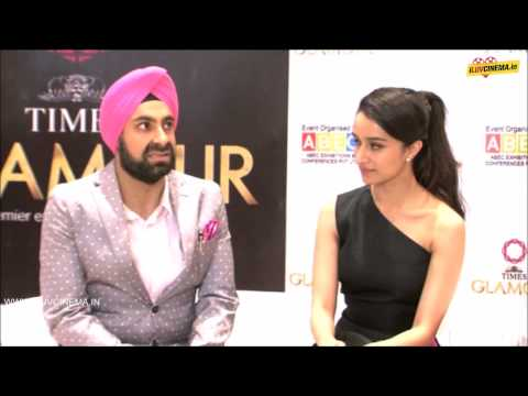 Shraddha Kapoor @ 14TH Edition of Glamour 2015 India's Largest Jewelery Expo