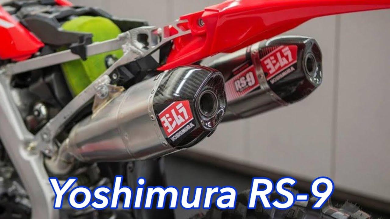 honda crf250r yoshimura rs 9 twin exhaust