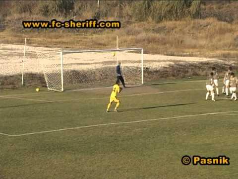Голы матча  Интерспорт-Арома  2 - 2   Шериф-2, 04-11-2011