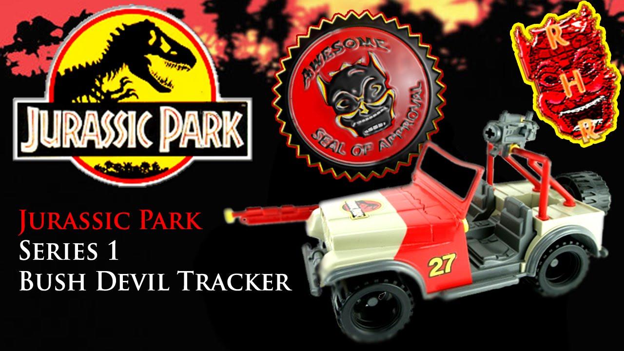 ce6b43a2954a Jurassic Park Toys (JP Series 1) - Bush Devil Tracker Review - YouTube