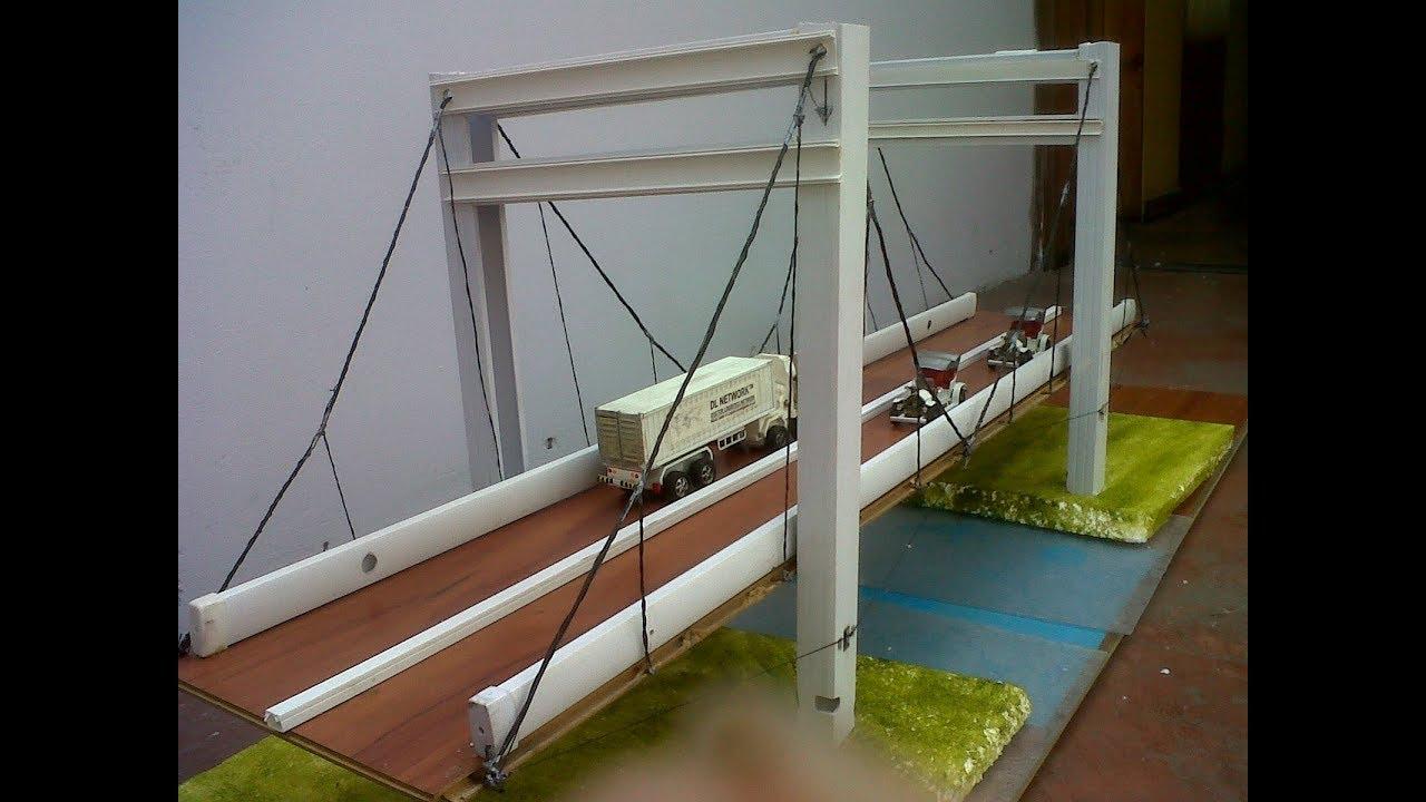 Puente De Paletas1 Maquetas T Puentes Maquetas Y