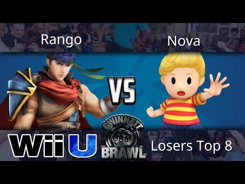 Gwinnett Brawl October 2017 - Rango (Ike) vs Nova (Lucas) - Smash 4 Losers Top 8