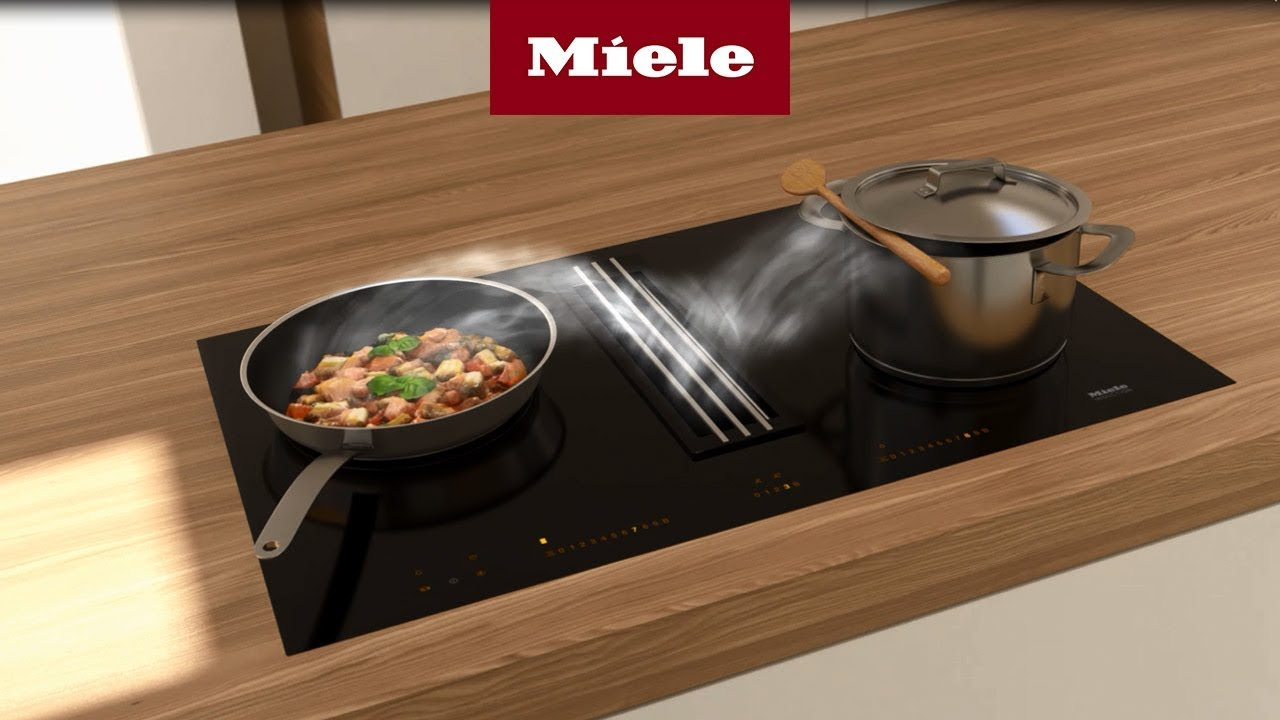 table cuisson 2en1 avec hotte integree
