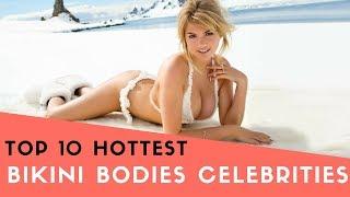 Top 10 Hottest Bikini Bodies Celebrities thumbnail