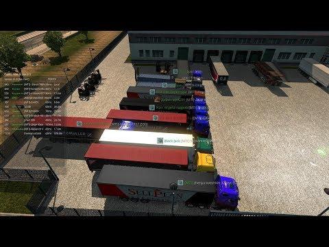 16/X Закрытый Конвой по Euro Truck Simulator 2 с MEGA TRANS