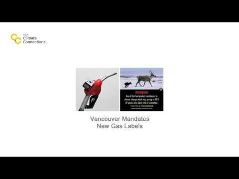 Vancouver Mandates New Gas Labels