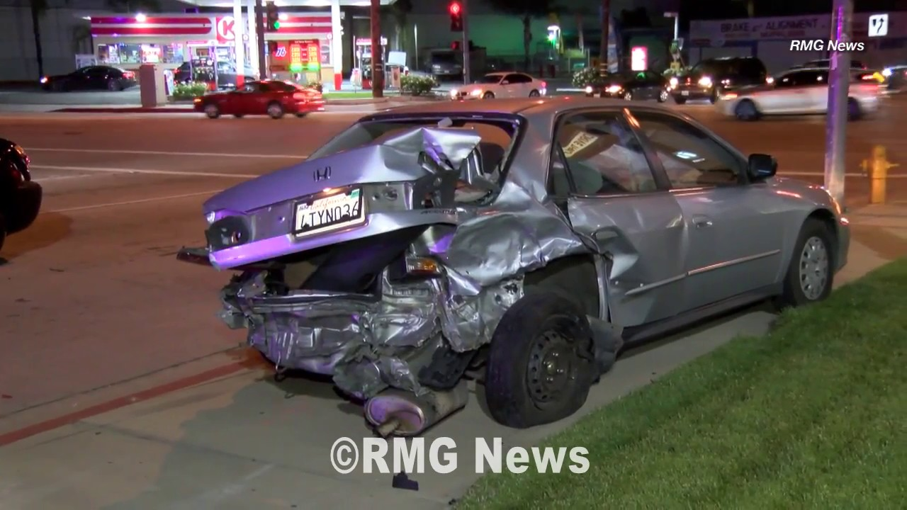 hit and run suspect causes multi-car crash after short pursuit in