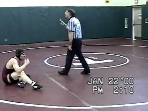 Josh Sarette 1999/2000 Trinity High School wrestling matches