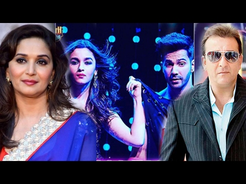 Madhuri Dixit And Sanjay Dutt REACT On TAMMA TAMMA AGAIN | Tamma Tamma Again Song Launch