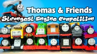 Thomas and Friends World's Strongest Engine Competition TrackMaster Train Toy Collection