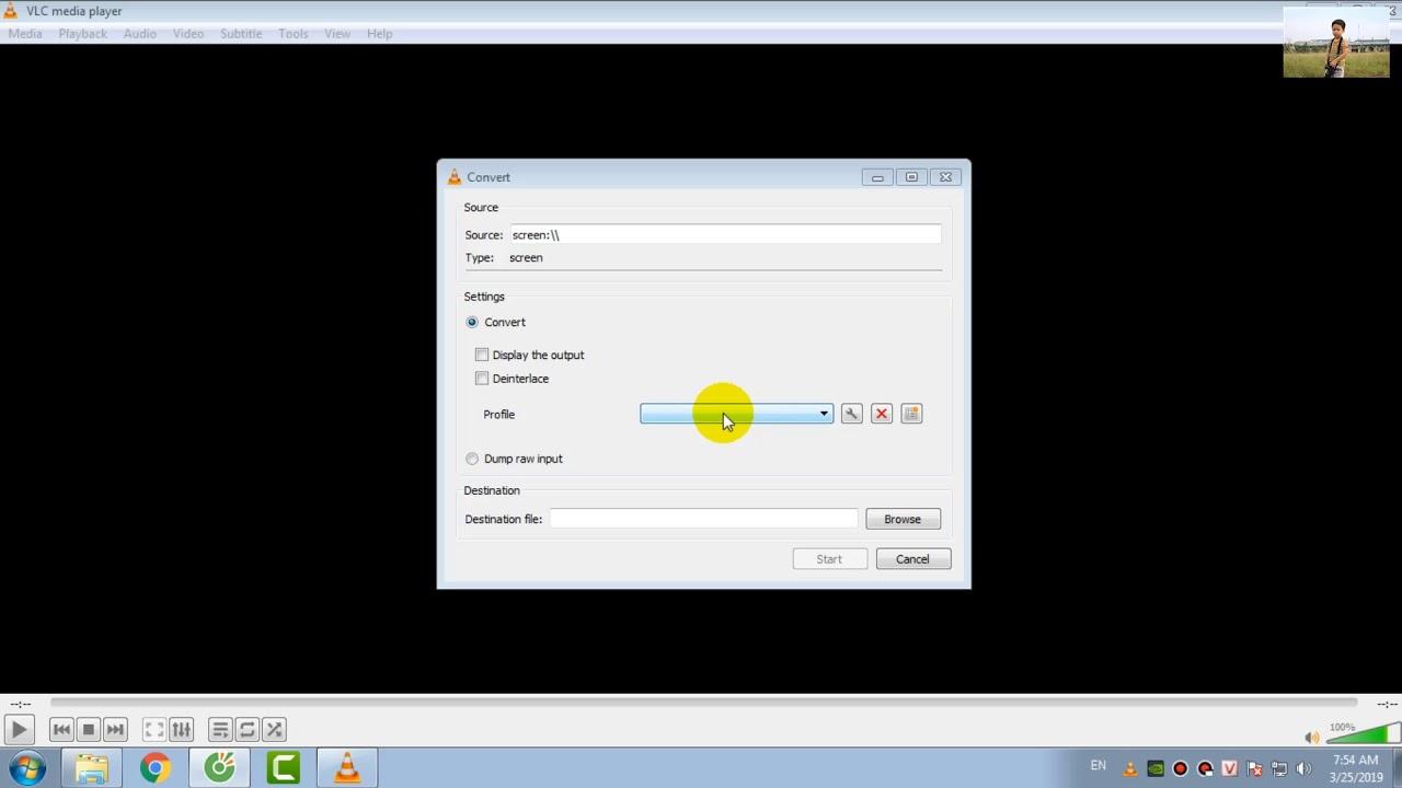 Hướng dẫn quay phim màn hình  máy tính bằng phần mềm VLC