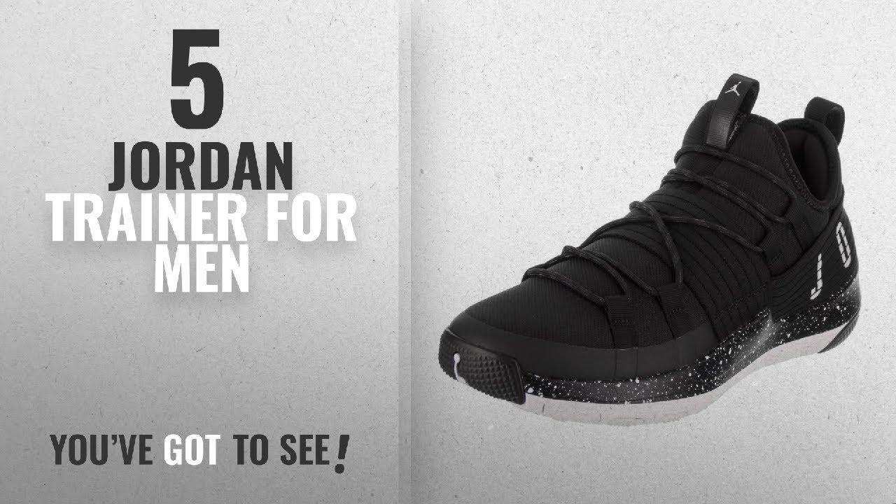 pretty nice df23b a7a9b Top 10 Jordan Trainer [2018 ]: Jordan Nike Men's Trainer Pro Black ...