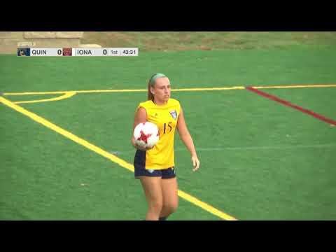 2017 NCAA Women's Soccer   Quinnipiac vs Iona