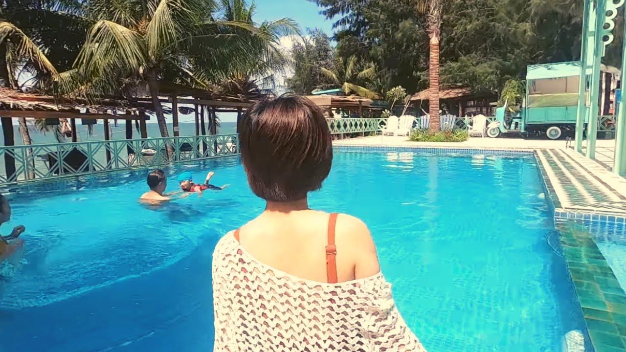 1 ngày tuyệt vời ở Coco Beach | Khang Bơ Vlog 07 (p1)