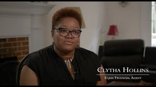 Equis Financial Success Story - Clytha Hollins