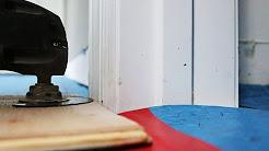 How To Undercut a Door Casing & Trim: High Quality Full Video