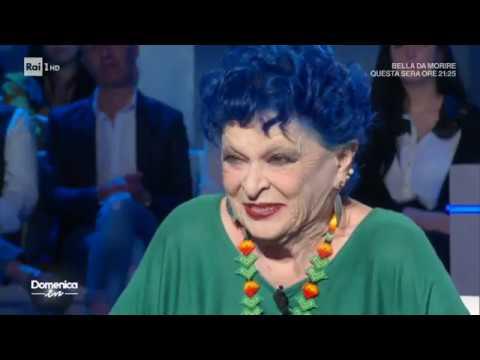 Il ricordo di Lucia Bosè - Domenica in 29/03/2020