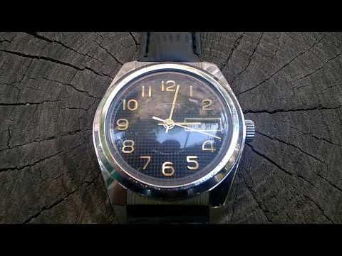 Vintage RAKETA (РАКЕТА) 17 Jewels USSR Mechanical Watch.