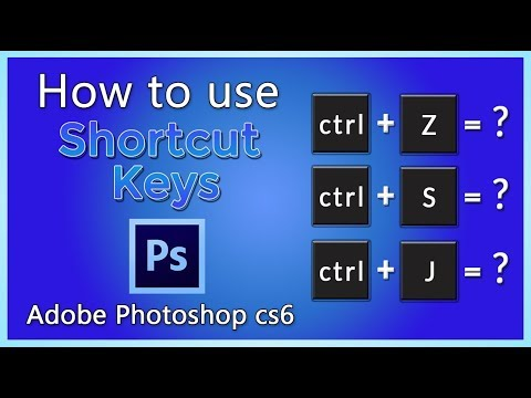 How To Use Shortcut Keys In Adobe Photoshop | Important Shortcut Keys | Urdu/ Hindi Tutorial  (4)