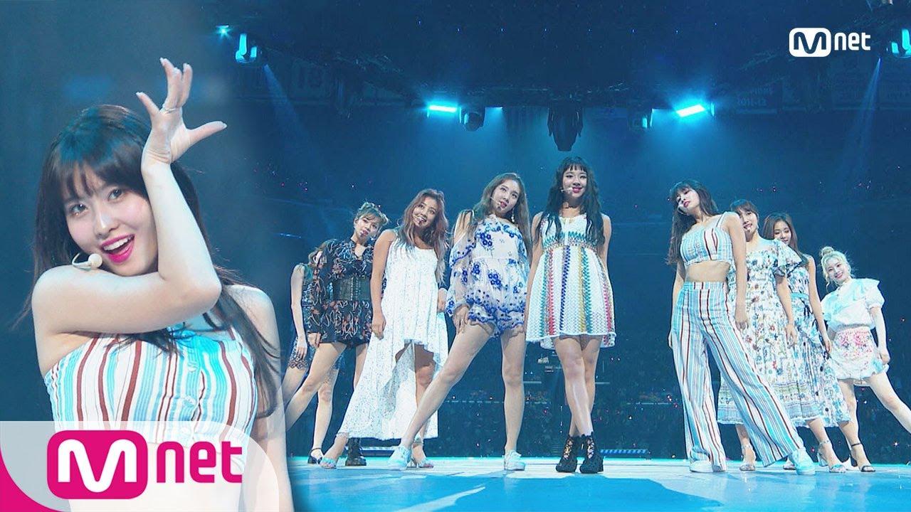 Kcon 2018 La Twice Intro Dance The Night Awayㅣkcon 2018 La X