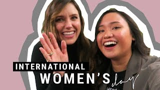 CHILLING WITH SOPHIA BUSH & ISKRA LAWRENCE | WHATNOWMAJA