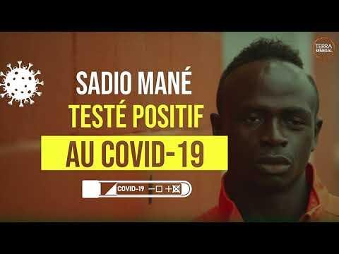 Sadio Mané testé positif au Covid-19