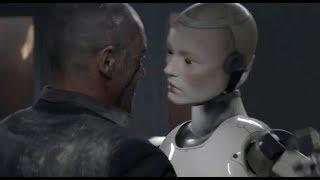 未来世界,人类几近灭亡,机器人进化出意识继续在地球生存