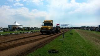 Truckpulling Cothen standaard truck run 2