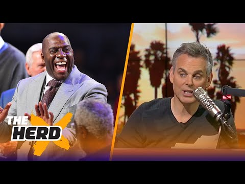 Colin on Magic Johnson's latest comments about LaVar, LeBron's potential move to LA | THE HERD