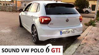 Sound Exhaust Volkswagen Polo 6 GTI 2018