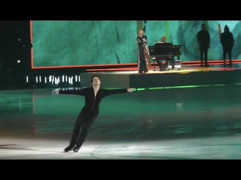 Art on Ice 2018 Read All About It - Stephane Lambiel, Emeli Sand�, AoI Skaters