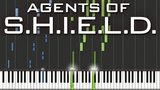 marvel s agents of s h i e l d main theme speed