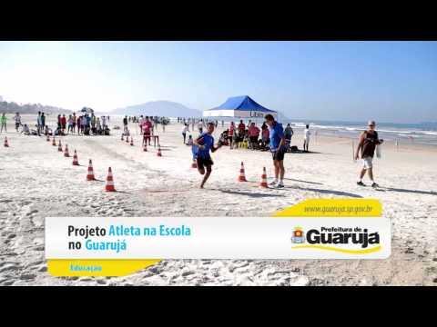Projeto Atleta na Escola no Guaruja