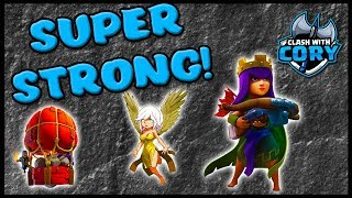 *EVEN STRONGER NOW* QUEEN CHARGE LAVALOON with STONE SLAMMER | CLASH OF CLANS | COC