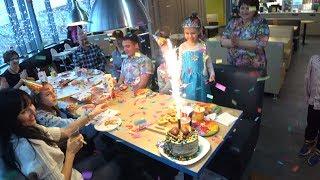 LIFE VLOG: Отмечаем День Рождения Миланы. Подарки! PAPBO лучший друг. Открываем L.O.L.!
